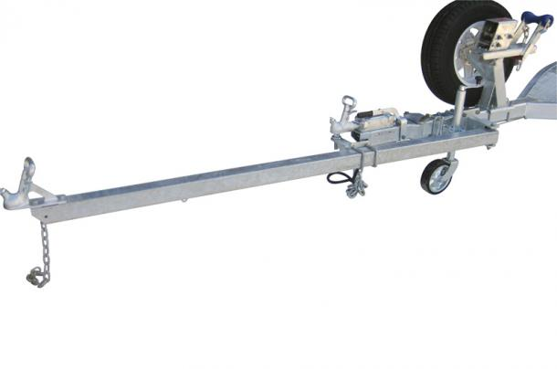 EXTENDABLE DRAW BAR IDEAL FOR SHALLOW RAMPS OR BEACH LAUNCHING