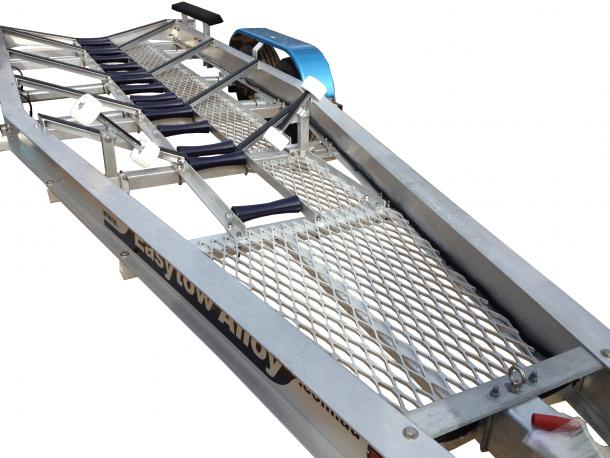 IDEAL FOR SHALLOW RAMPS OR BEACH LAUNCHING ALLOY MESH A - FRAME & WALKWAY