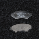 HYDRAULIC BRAKE PADS (STEEL BACKING)