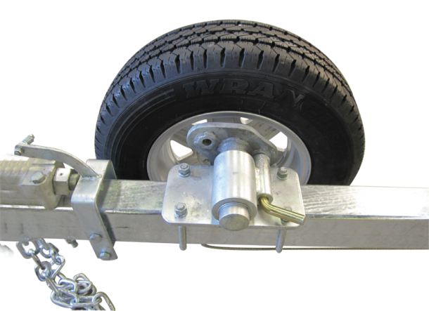 Ez Wheel Drop Down Spare Mount Easytow Boat Trailers